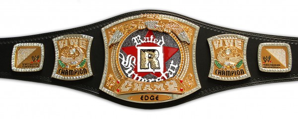 WWE EDGE RATED-R CHAMPIONSHIP SPINNER REPLICA GÜRTEL