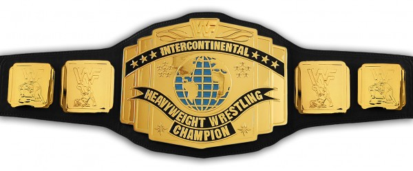 WWF INTERCONTINENTAL CLASSIC REPLICA GÜRTEL