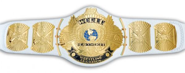 WWE / WWF WINGED EAGLE WEIßER REPLICA GÜRTEL