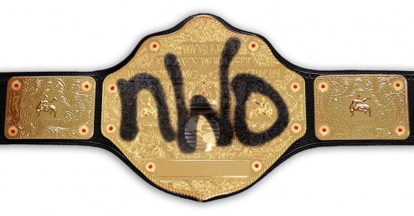 nWo / WCW WORLD HEAVYWEIGHT REPLICA GÜRTEL