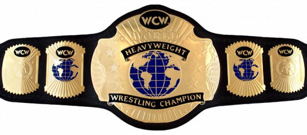 WCW WORLD HEAVYWEIGHT REPLICA GÜRTEL (1993)