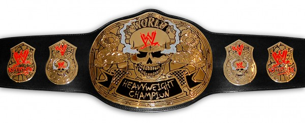 WWE / WWF STONE COLD SMOKING SKULL REPLICA GÜRTEL