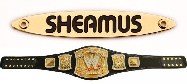 """""""Sheamus"""" Namensplakette für WWE Spinner Gürtel"""
