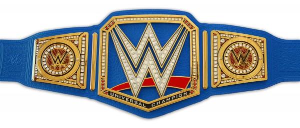 WWE UNIVERSAL CHAMPIONSHIP BLUE COMMEMORATIVE GÜRTEL