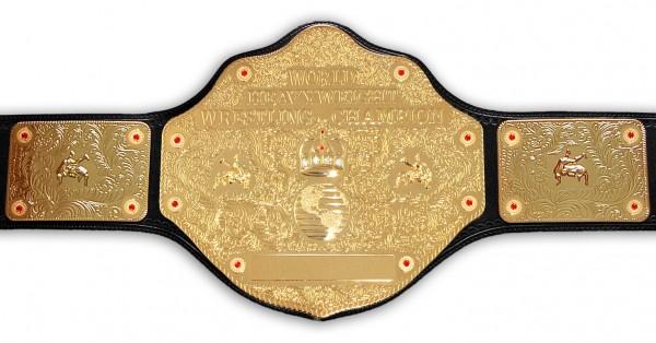 WCW WORLD HEAVYWEIGHT REPLICA GÜRTEL